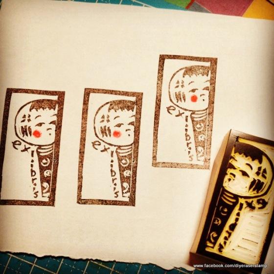 kokeshi exlibris